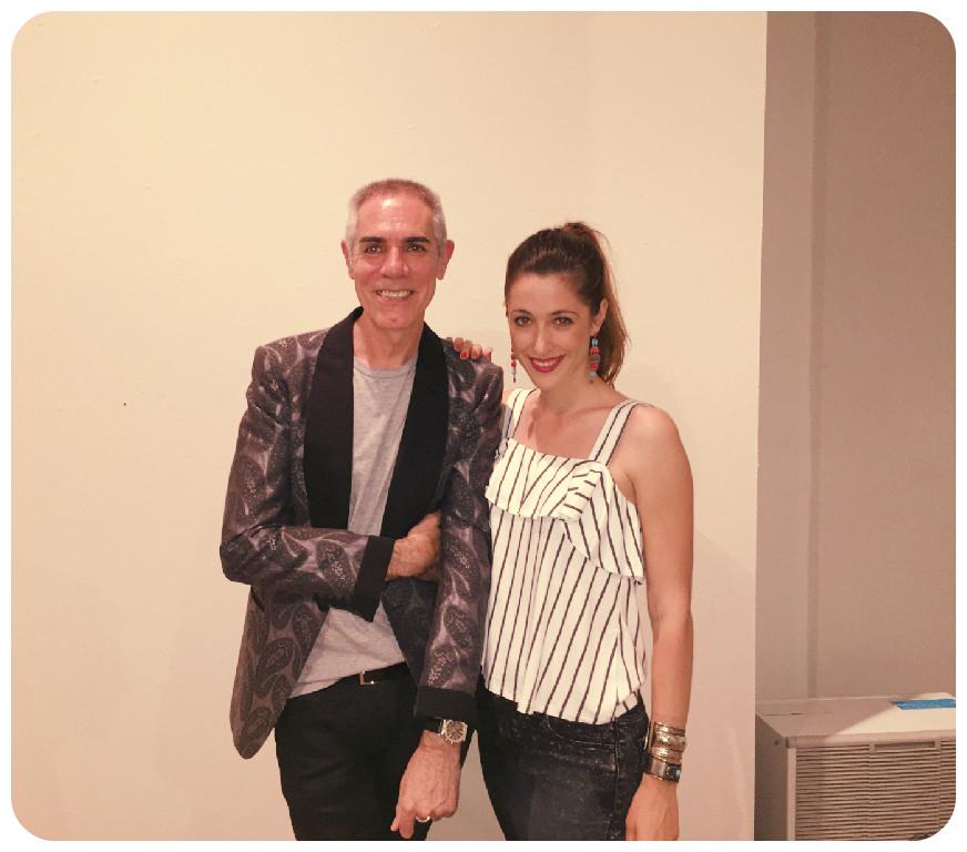 90. con Arturo Elena