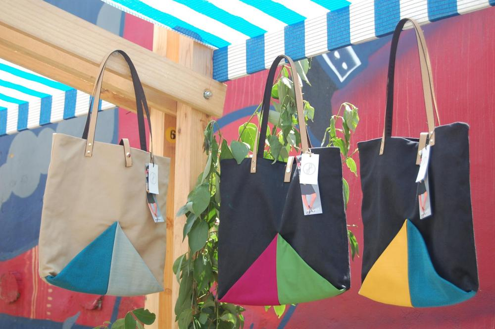 Bolsos Fani, a juego con la colección Tangram / Fani bags, they go with the Tangram collection.