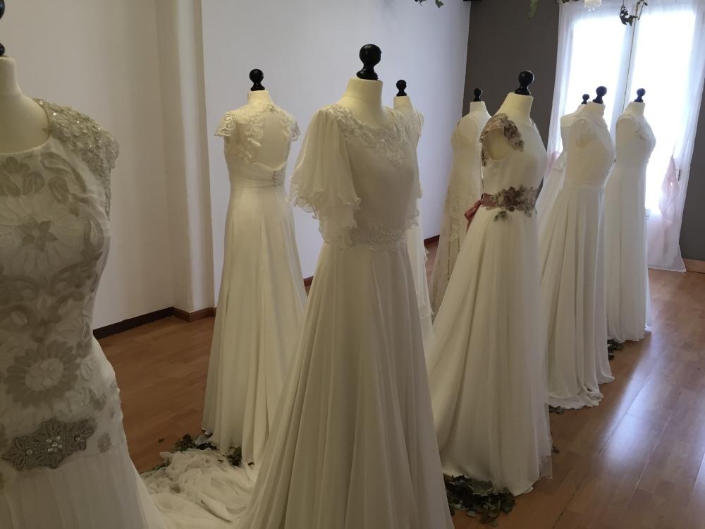 Sala de exposición del atelier de Martha Peters