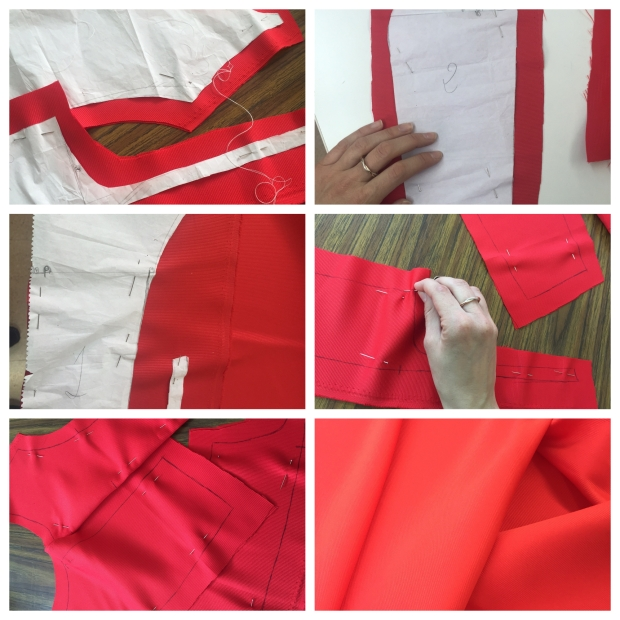 Apple Nelken vestido rojo