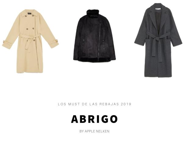 Prendas de abrigo que debes comprar en las rebajas 2019