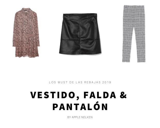 Pantalones, faldas y vestidos que debes comprar en las rebajas 2019