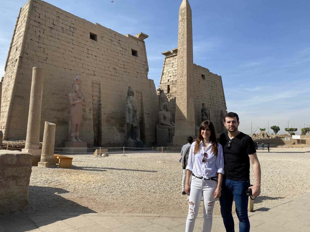 Exterior del Templo de Luxor