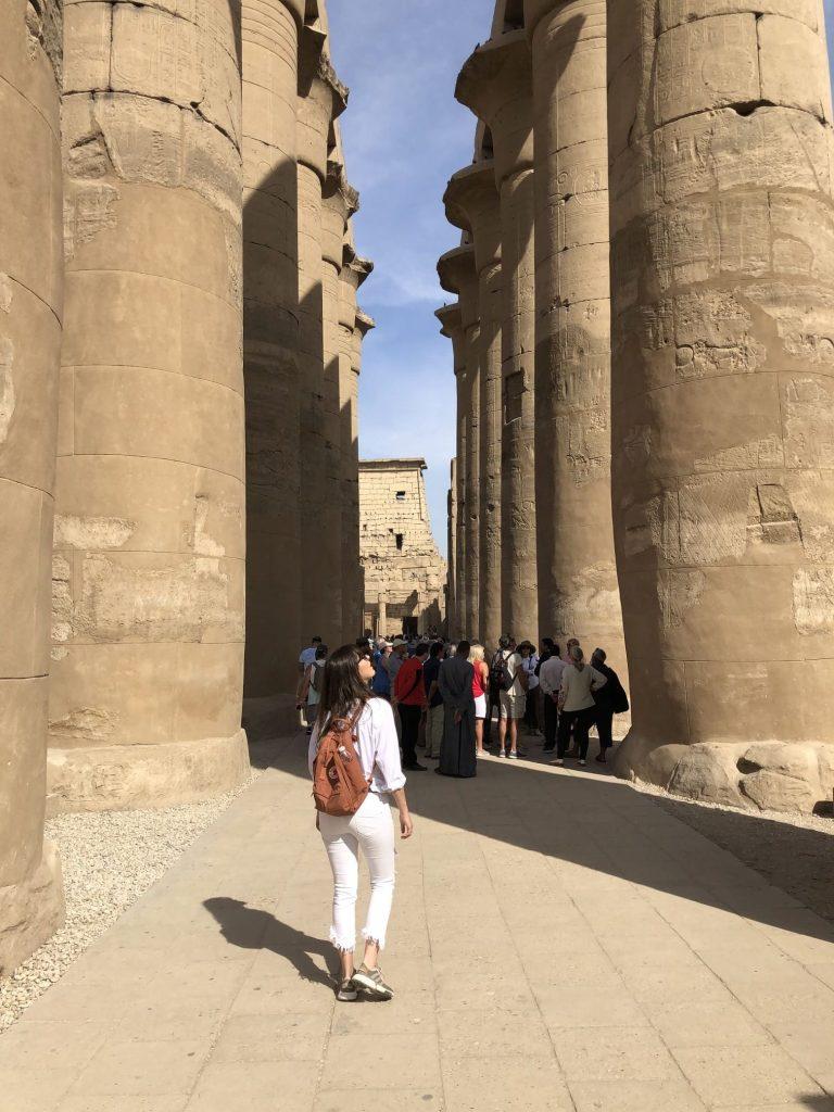 Interior del Templo de Luxor