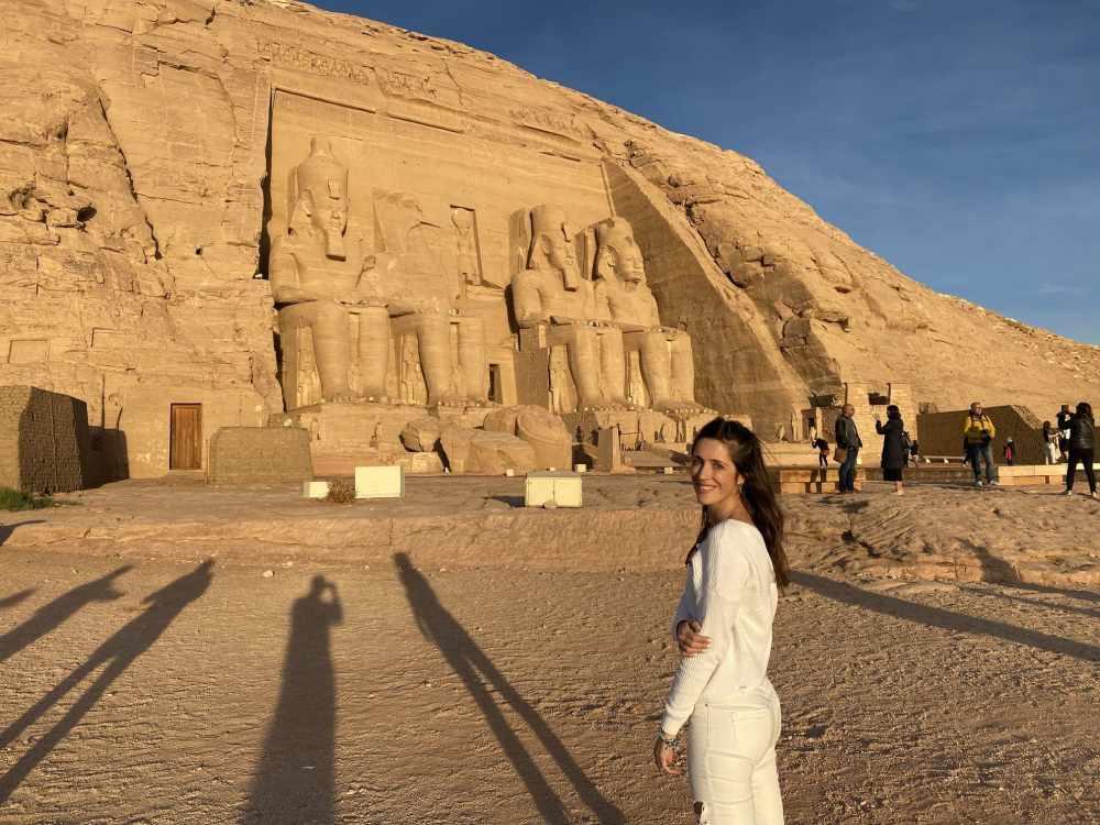 Exterior del Templo de Abu Simbel
