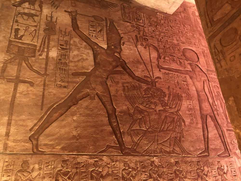 Interior del Templo de Ramsés II