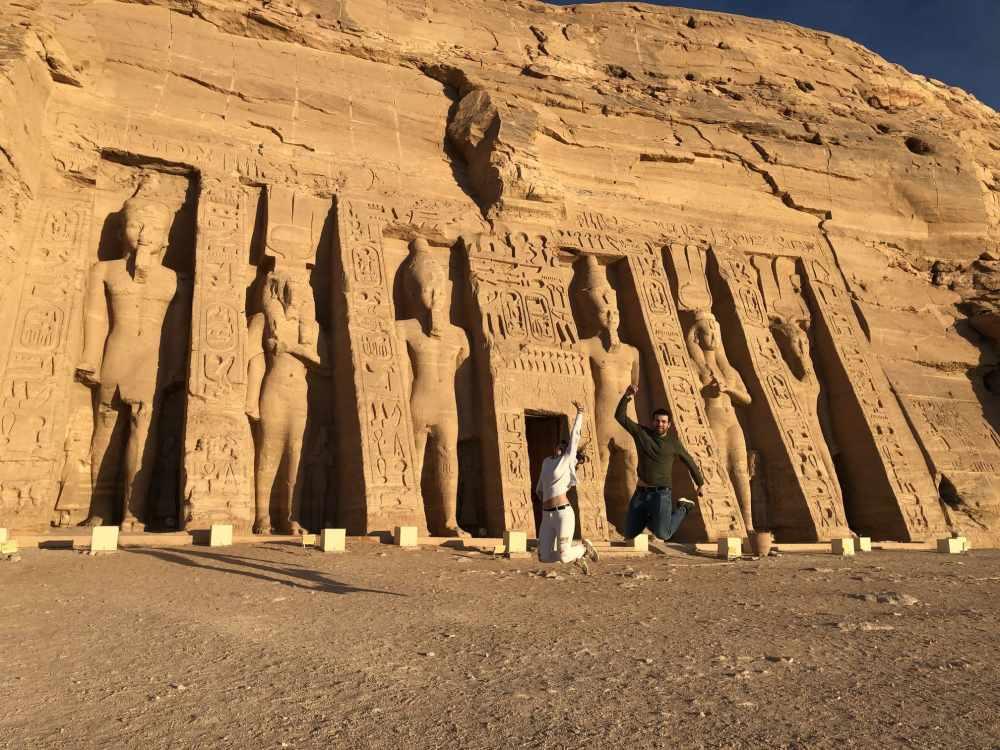 Exterior del Templo de Nefertati