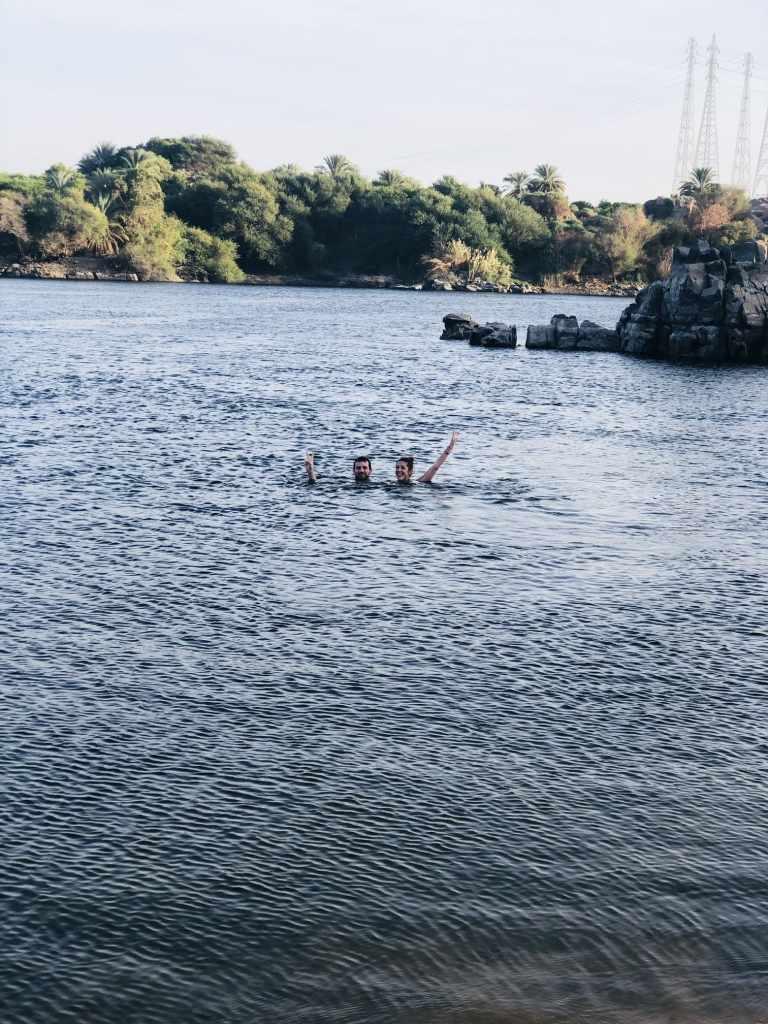 Baño en El Nilo