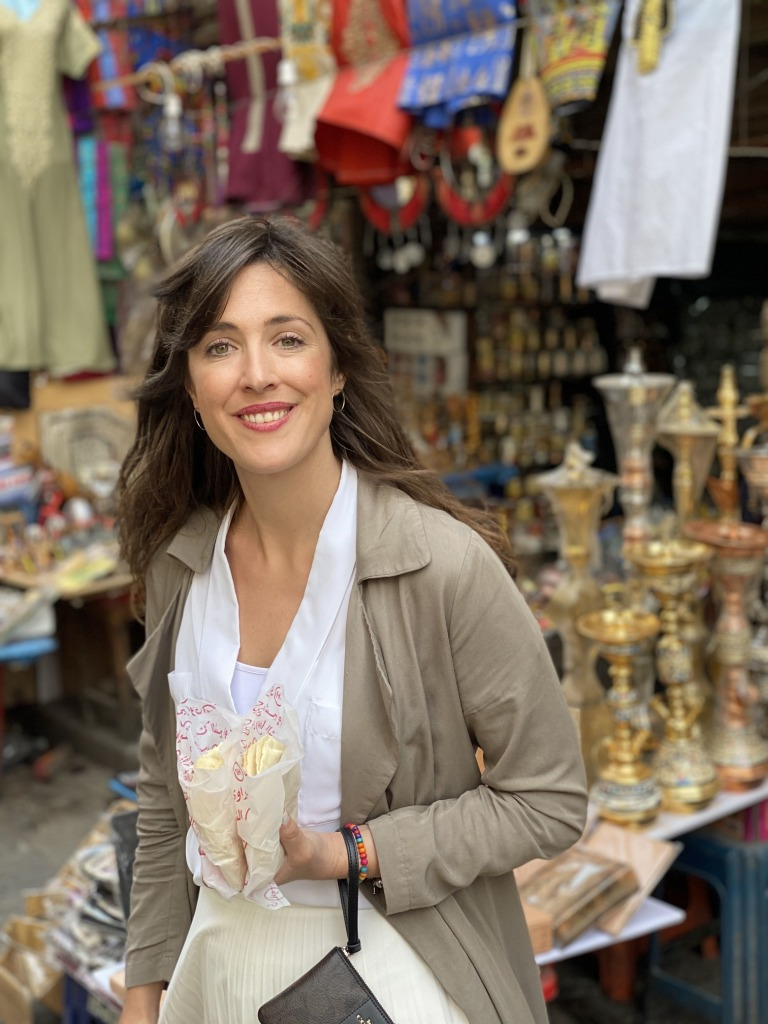 De compras por el Mercado de Al Khalil