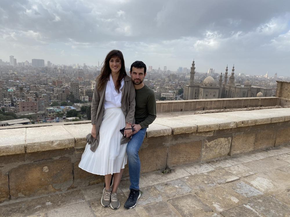 Vista de la ciudad desde la ciudadela de Saladino.