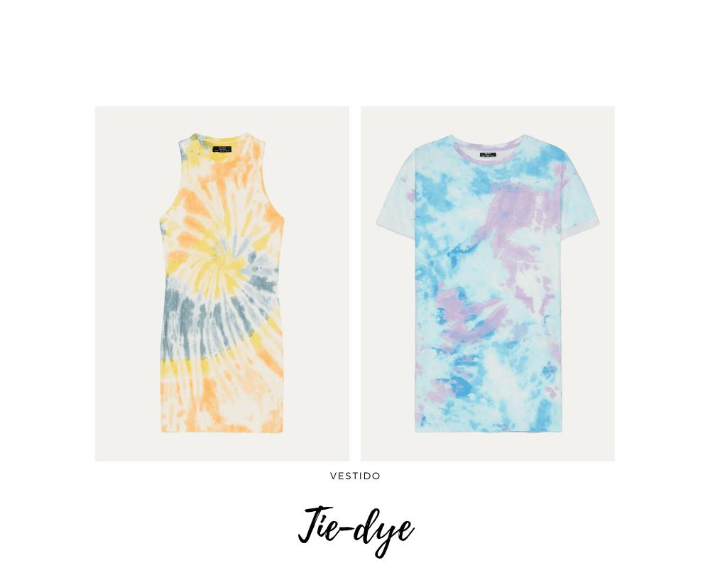 Los vestidos Tie-Dye son tendencia este verano 2020