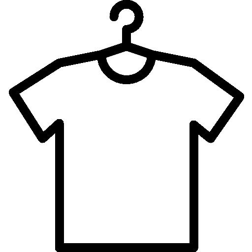 icono estilo camiseta
