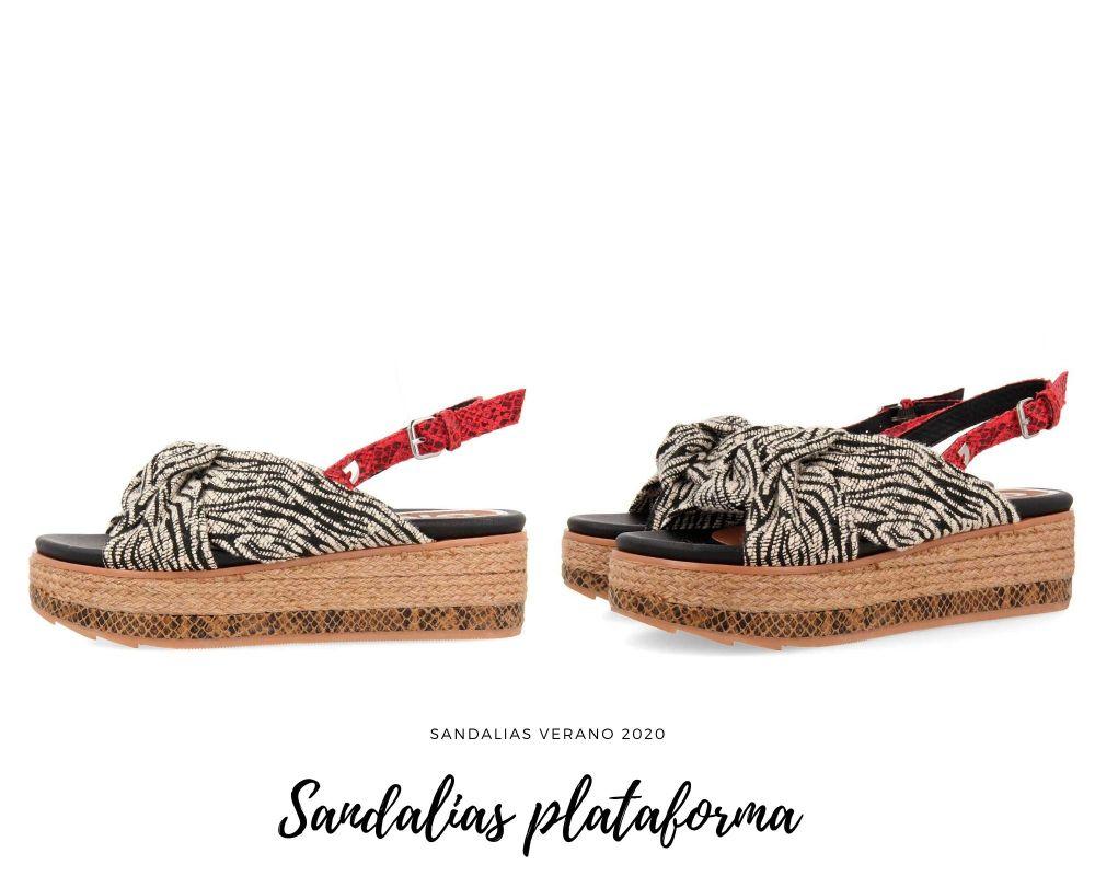 Sandalias de plataforma verano 2020