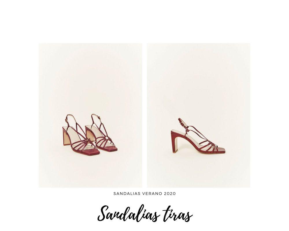 Sandalias de tiras finas
