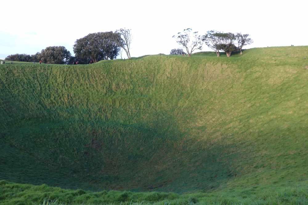 Día 1- Auckland- cráter